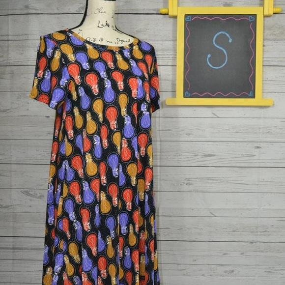 LuLaRoe Dresses & Skirts - LuLaRoe Small LightBulb Carly